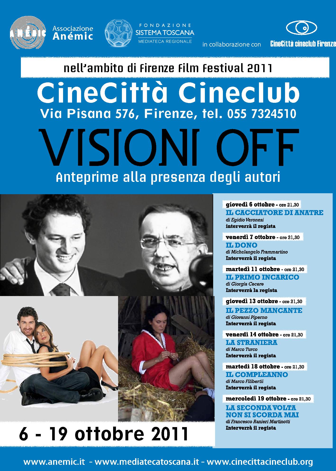 Visioni Off 2011