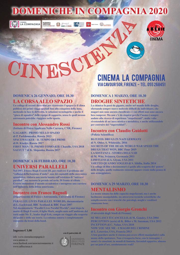 CineScienza - La Compagnia 2020